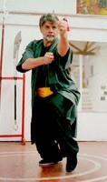 kung fu  punching at plumpub.com