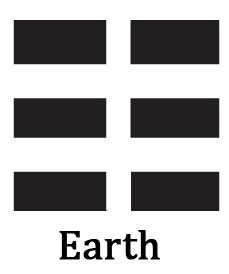 Bagua Trigram Kun Earth @plumpub.com