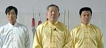 Kung Fu master and disciples