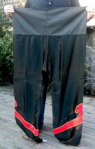Kung Fu wrapping pants