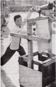 Choy Lai Fut Kung Fu dummy