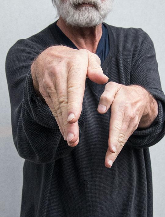 Praying Mantis Fist